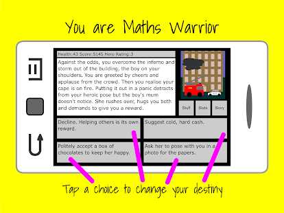 Maths Warrior- screenshot thumbnail