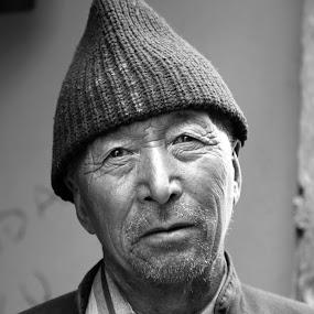 Yje Monk by Rakesh Das - People Portraits of Men