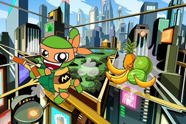 Ninja Boy Turtle Jump - screenshot