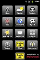 Screenshot of Radio Köln