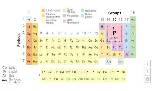 K12 periodic table android apps on google play k12 periodic table screenshot thumbnail urtaz Images