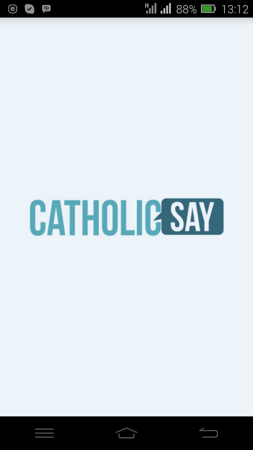 Catholicsay- screenshot