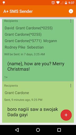 A+ 短信寄件者