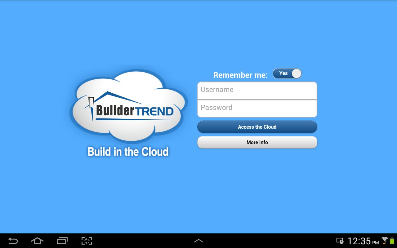BuilderTREND - screenshot