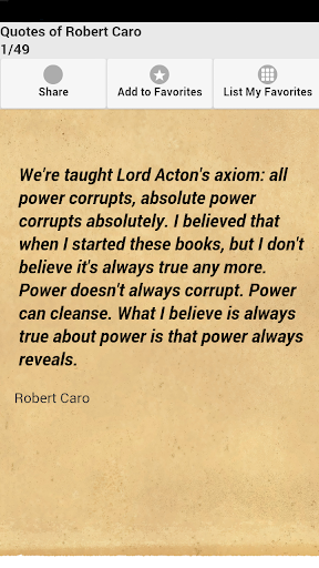 Quotes of Robert Caro