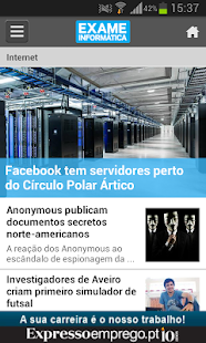 Exame Informática Online- screenshot thumbnail