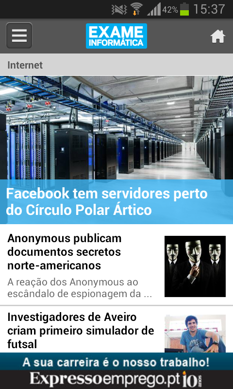 Exame Informática Online- screenshot