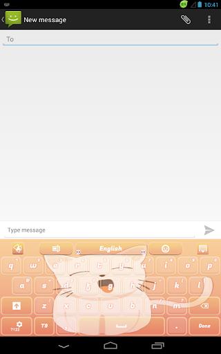 無料个人化Appのスウィートキティのキーボード|記事Game