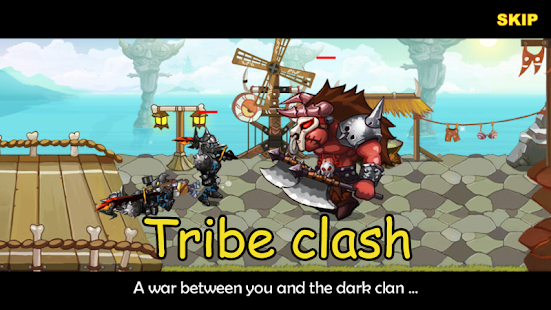 clan tribe clash مودشده tribe clan clash Android App Screenshot.