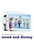 Screenshot of wood and disney