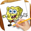 Learn To Draw Bob Sea Spunge APK for Bluestacks