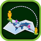 RouteIt Travel Route Guide icon