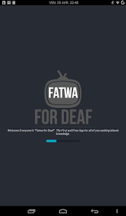 FFD - Fatwa for Deaf- screenshot thumbnail