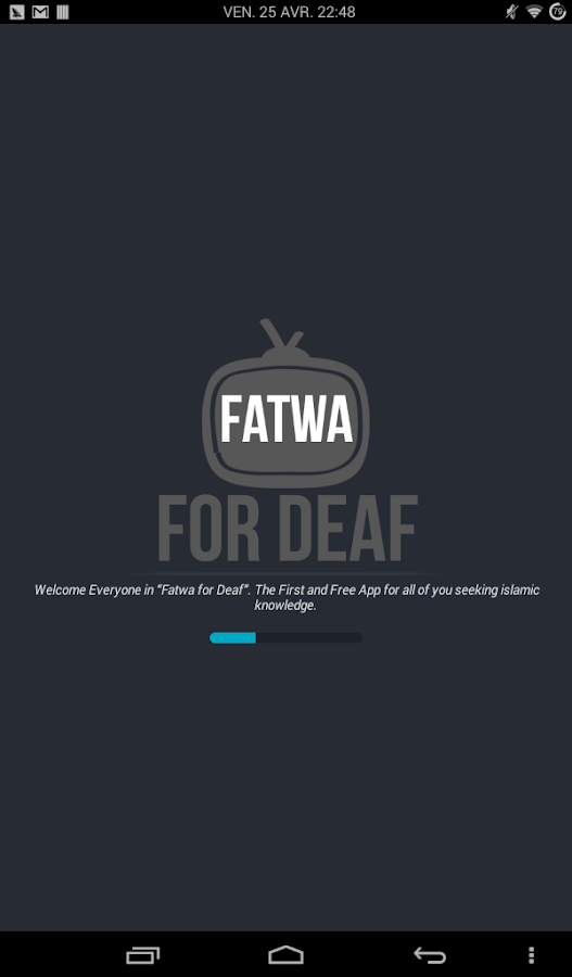 FFD - Fatwa for Deaf - screenshot