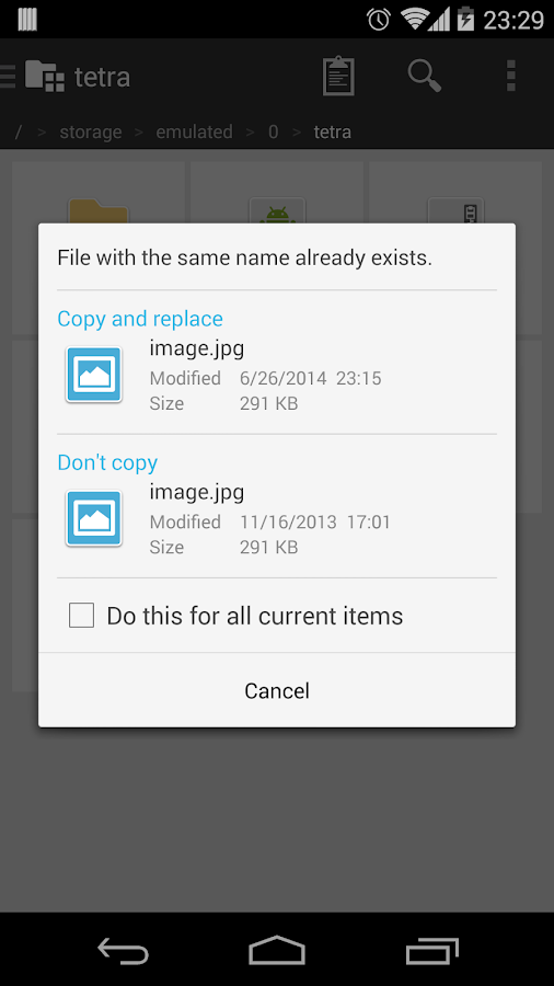 Tetra Filer Free - screenshot