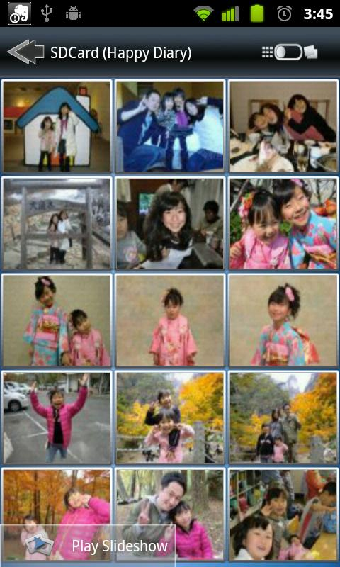 Yubee Photo Album - screenshot
