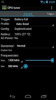 CPU Tuner (Телефоны с рутом) screenshot