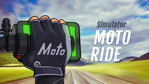 Motorcycle handlebar simulator