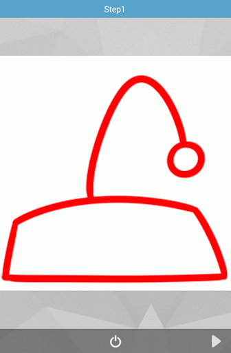 How to Draw Santas Hat
