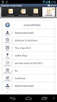 Screenshot of NSDroid for NetSuite CRM