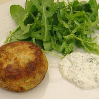 Salmon And Smoked Trout Fish Cakes.