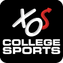 XOS College Sports logo