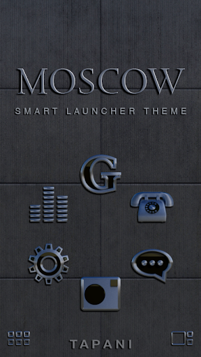 Smart Launcher Theme Moscow