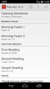 Daily Prayer PC(USA) - screenshot thumbnail