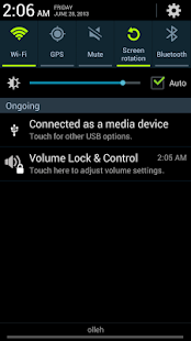 Volume Lock Control - screenshot thumbnail