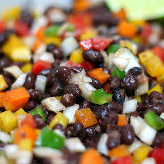 Black Bean Confetti Salad.
