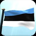 Estônia Bandeira 3D icon