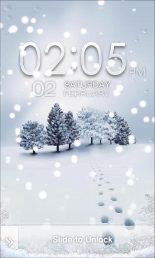 Tia Locker White Winter