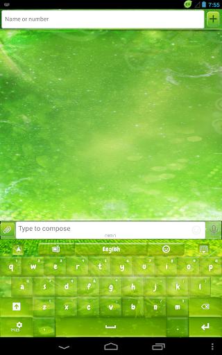 玩免費娛樂APP|下載GO输入法绿色闪 app不用錢|硬是要APP