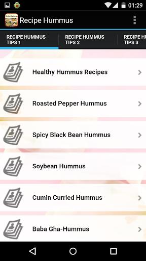 Recipe Hummus