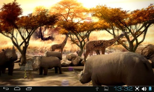 Africa 3D Pro Live Wallpaper- screenshot thumbnail