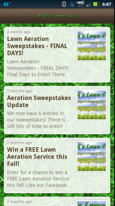 Kirks Lawn Care - Android Apps on Google Play