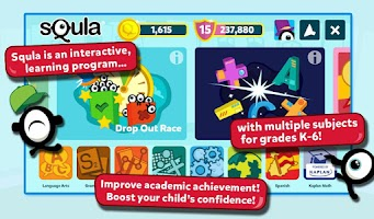 Screenshot of Squla for Grades 2-6