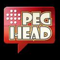 PegHead: a Peg Solitaire Game logo