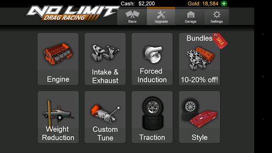 No Limit Drag Racing- screenshot thumbnail