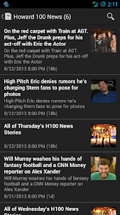 Howard Stern Mobile- screenshot thumbnail