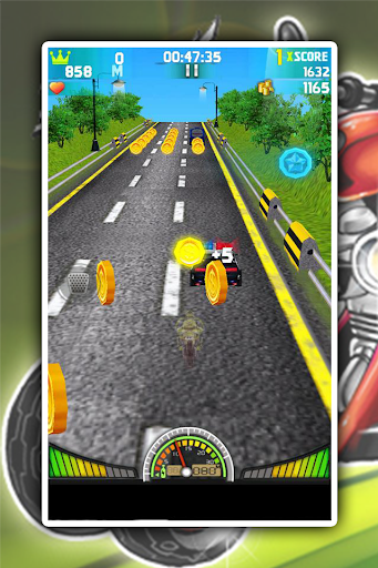3D Motor Traffic Racer