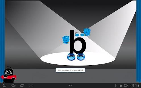 Levande bokstäver– miniatyr av skärmdump