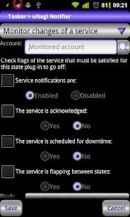 Locale uNagi Notifier Plug-in- screenshot thumbnail