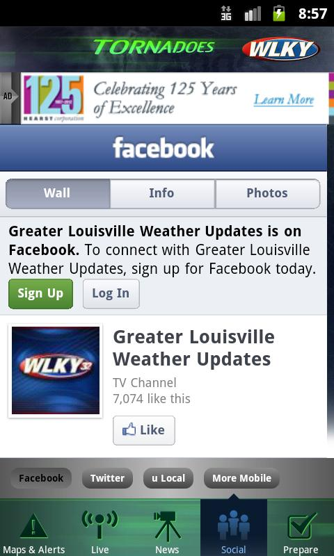 Tornadoes WLKY 32- screenshot