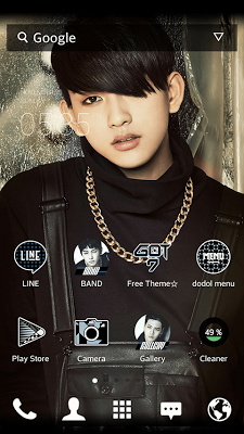 GOT7_Jr dodol theme - screenshot