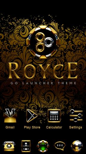 Go Launcher Theme ROYCE