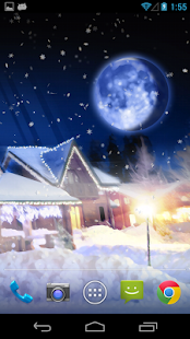 Christmas Silent Night LWP! - screenshot thumbnail