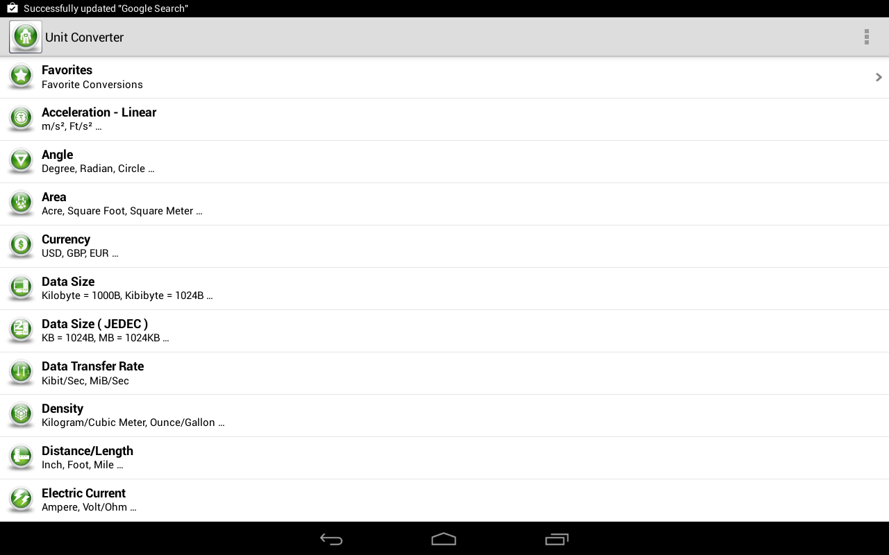 Unit converter android apps on google play unit converter screenshot nvjuhfo Images