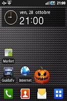 Screenshot of Halloween Widget