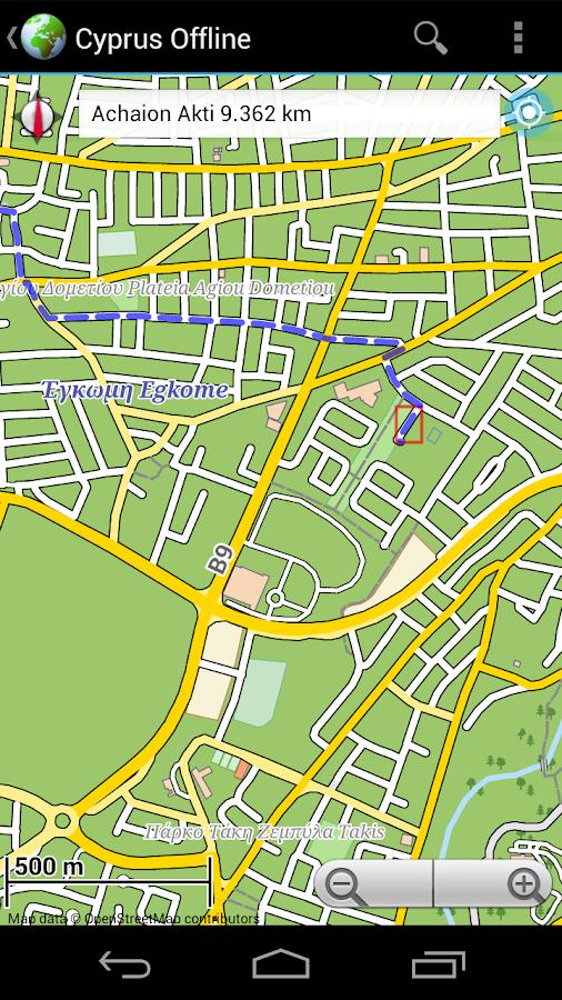 offline karte zypern android apps auf google play. Black Bedroom Furniture Sets. Home Design Ideas